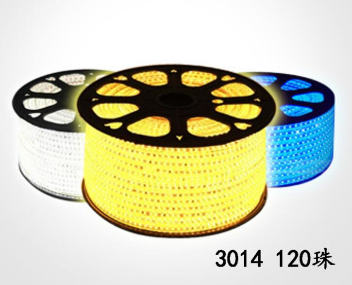 50m 100m 110V 220V RGB 5050 Waterproof Flexible LED Strip+pulg 200m LED stripe Lighting  ...