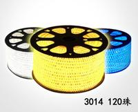 50m 100m 110V 220V RGB 5050 Waterproof Flexible LED Strip+pulg 200m LED stripe Lighting for outdoor IP67 Factory provide