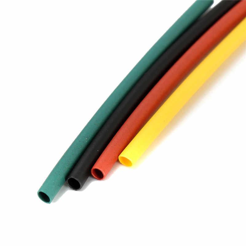 328Pcs 8 ขนาดหลายสีPolyolefin 2:1 ท่อหดความร้อนหลอดชุดSleeving Wrapลวดชุด