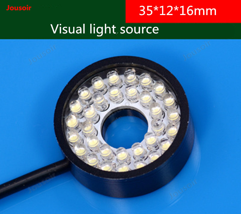 35*12*16mm Ring light source detection of light source Industrial light source micro explicit mirror light source CD50 T03|Photographic Lighting| |  - title=