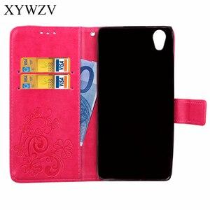 Image 4 - Para Cobrir Sony Xperia Estojo De Couro Do Caso Da Aleta Para Sony Xperia L1 L1 Carteira Soft Case Silicone Capa Para Xperia l1 G3312 G3311 Saco