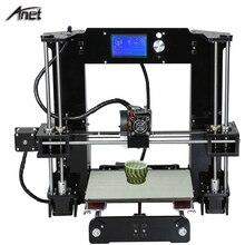 Anet A6 Full Arcylic 3D-Printer Big Size 220*220*250mm Reprap Prusa i3 DIY 3D Printer Kit with Filament