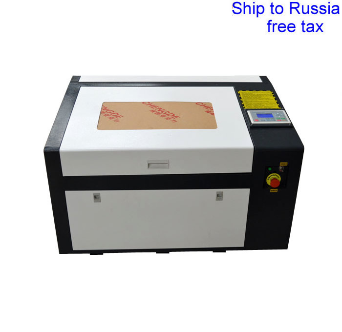 LY  6040 PRO 50W high speed laser engraver support off line control to Russia free tax speed line pro