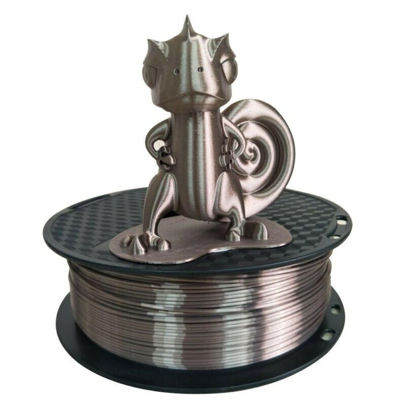 Shina 3d Printer Filament 1.75mm 1kg Silk Pla Rose Gold 3D Printing Material  Spool For 3D Printer And Pens