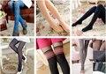 Весна и осень тонкие женские шелк-чулок спагетти ремень бедра носки за - - лоскутное шелковые чулки колготки