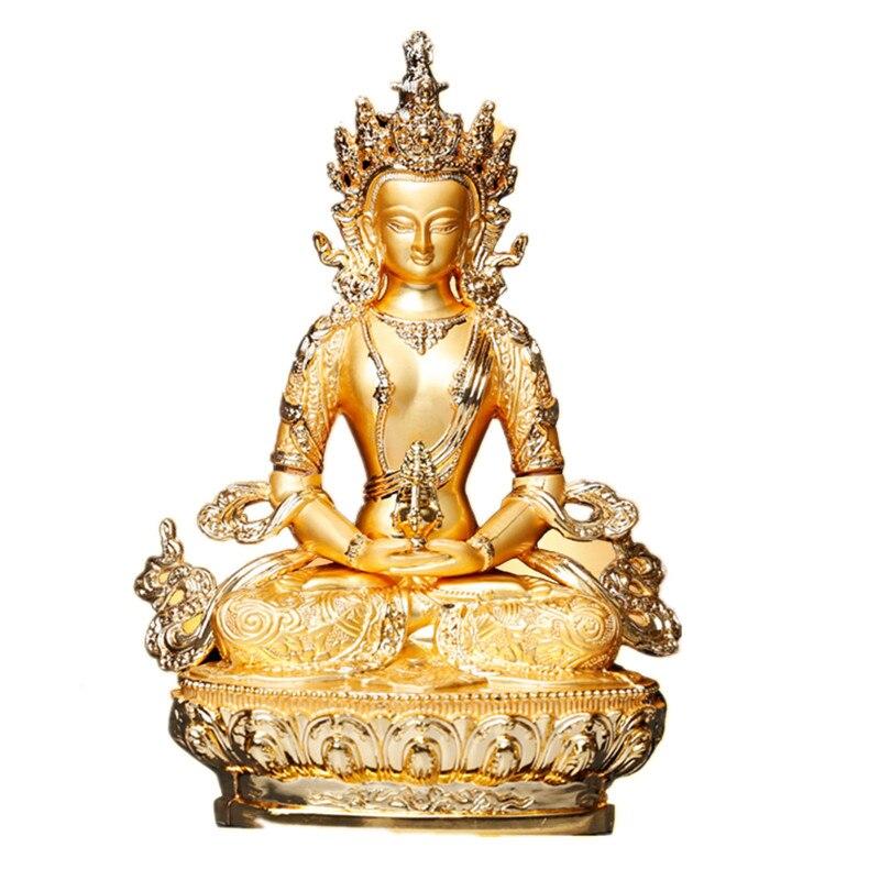 5″ Gold Buddha Statue