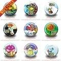 18 Pcs Plants VS Zombies moda Badges Pin botão rodada broche emblemas, Roupas sacos decore, Presente do partido