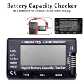 RC Digital Cell Battery Capacity Checker For LiPo LiFe Li-ion Nicd NiMH Battery Voltage Tester Checking Tool