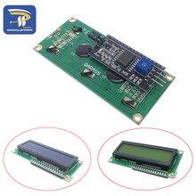 ЖК-дисплей 1602+ ЖК-модуль 1602, синий/желто-зеленый экран IIC/igc для arduino lcd 1602