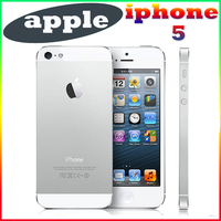 Original Unlocked Apple iPhone 5 Mobile Phone 4.0 inches Dual Core 16GB/32GB/64GB 8MP Camera WIFI GPS 3G IOS Cell Phones