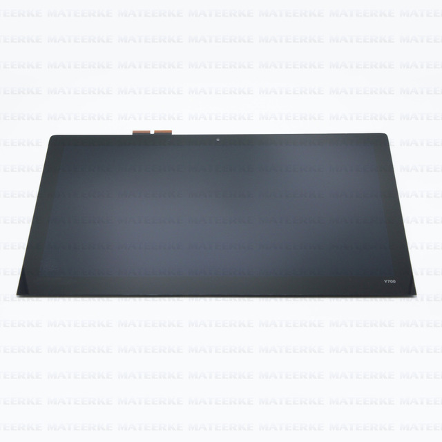 "Probado Nueva 15.6 ""FHD LED LCD Asamblea de Pantalla Táctil Para Lenovo Ideapad Y700 15ISK 80NW"