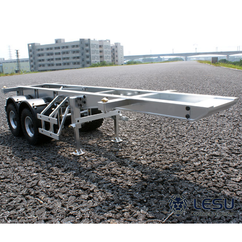 1/14 truck 20 foot trailer container semi-trailer Tamiya Maersk container frame metal model LS-20120805 RCLESU Tamiya tractor
