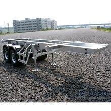 1/14 грузовик 20 футов прицеп контейнер полуприцеп Тамия Maersk контейнерная рама металлическая модель LS-20120805 RCLESU Tamiya трактор