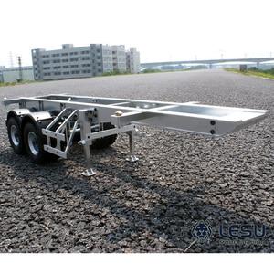 1/14 truck 20 foot trailer container semi-trailer Tamiya Maersk container frame metal model LS-20120805 RCLESU Tamiya tractor(China)