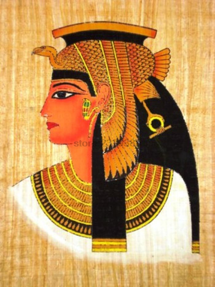 Popular cleopatra painting buy cheap cleopatra painting for Egyptian fresco mural painting