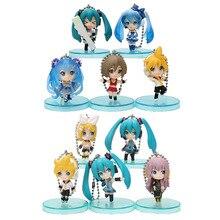 5pcs/set 4cm Vocaloid Hatsune