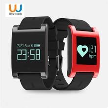 Uwatch DM68 Водонепроницаемый Смарт Группа Браслет фитнес-трекер крови Давление монитор сердечного ритма вызовы сообщения часы для телефона