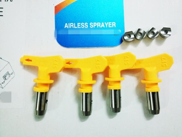 1PCS 109-343 109 111 115 213 215 313 335 High-pressure Airless Spray Gun Nozzle Wagner Spray Nozzle Spray Machine Accessories
