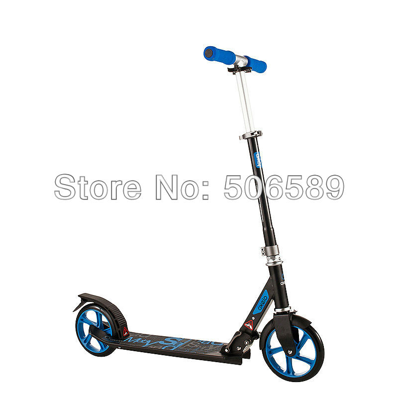 free shipping adult's scooter easyfold for height 145cm-185cm blue pink black by EMS