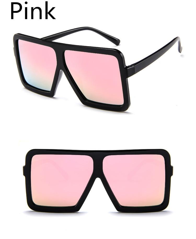 ASUOP2018 large frame new retro ladies sunglasses black radiation fashion men's glasses UV400 international luxury brand square goggles (13)
