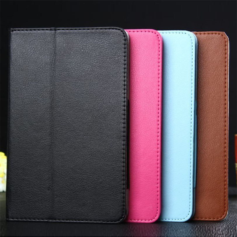 цены Leather Tablet Case Cover Folio Protective Tablet Case Skin for Lenovo IdeaTab A8-50 A5500 8 Inch Tablet 20J Drop Shipping