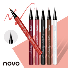 Novo 6 Colors Eyeliner Pencil Ultimate Long-lasting Waterproof Liquid Smooth Eye