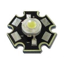 10 шт./лот 3 Вт 45mil чип белый 6000~ 6500K светодиодный светильник из бисера лампа часть с 20 мм Star Base