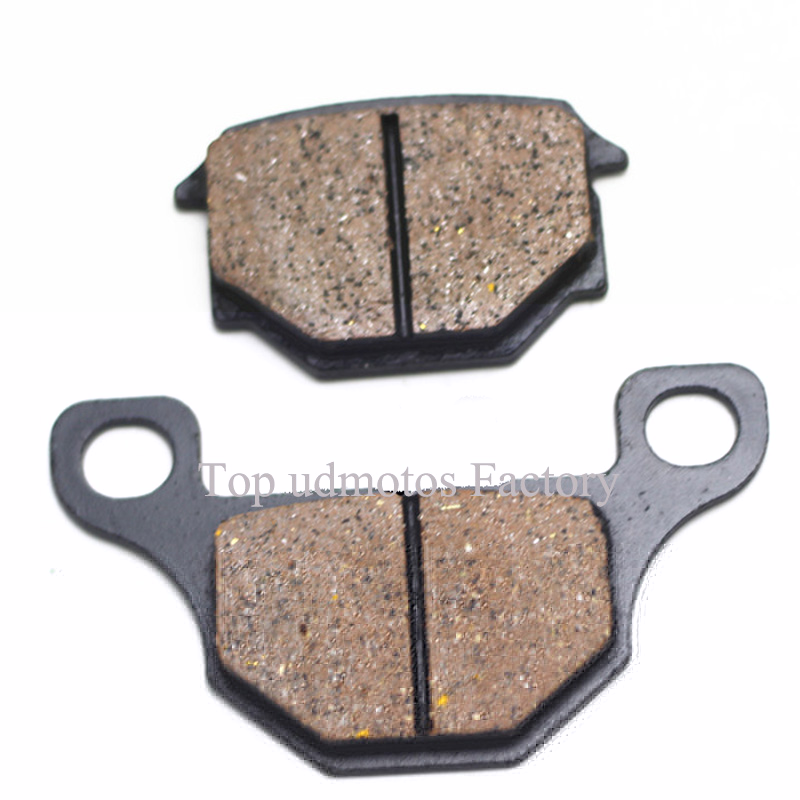 1Pair High quality For Suzuki GN125 brake pads,GS125 brake disc pads TGB 303R 150cc front brake pads economic bicycle brake pads black 4 pcs