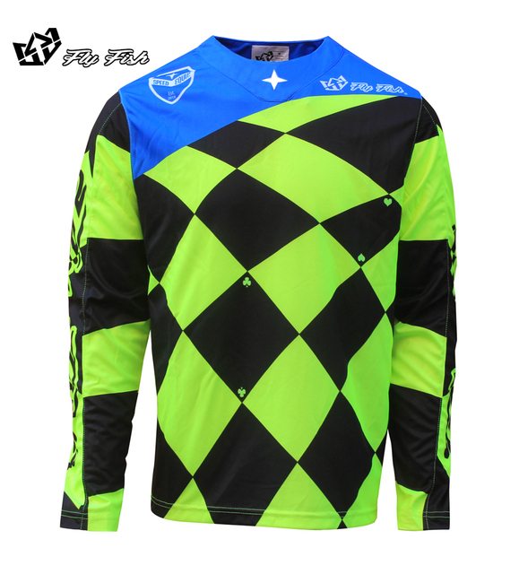 2018 FLY FISH Racing SE Joker Jersey - Motocross Dirtbike MX ATV MTB Off  Road Mountain Bike moto Jersey DH BMX motocross jersey 132dd07be