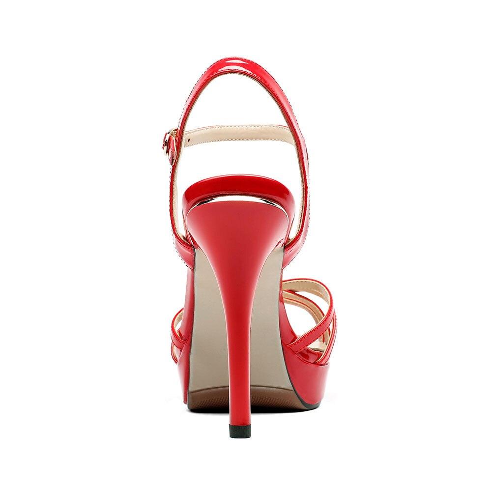 Brevet Neuf Cuir Décontracté 34 Apricot Doratasia Flambant 40 Semelles À Sandales Compensées Bureau Talons Chaussures Taille rouge 2019 Partie Pu Femme Hauts Grande D'été En xwqwtU0vY