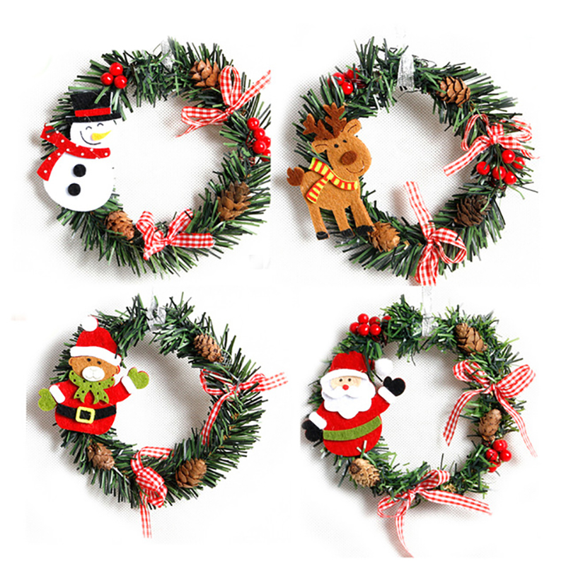 Popular decorated christmas wreaths buy cheap decorated for Order christmas decorations