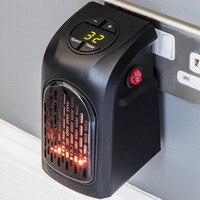 Настенный Электрический нагреватель маленький вентилятор для обогрева настольных бытовых стен Удобная нагревательная плита радиатор теп...