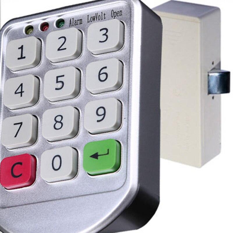 3 Digital Code Combination Cam Lock Furniture Post Mail Box Cabinet Locker AU