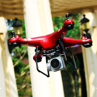 Premium 6 Axis Gyro 4 Channel HD Camera Drone Aircraft UAV Wireless WiFi Quadcopter APP Remote