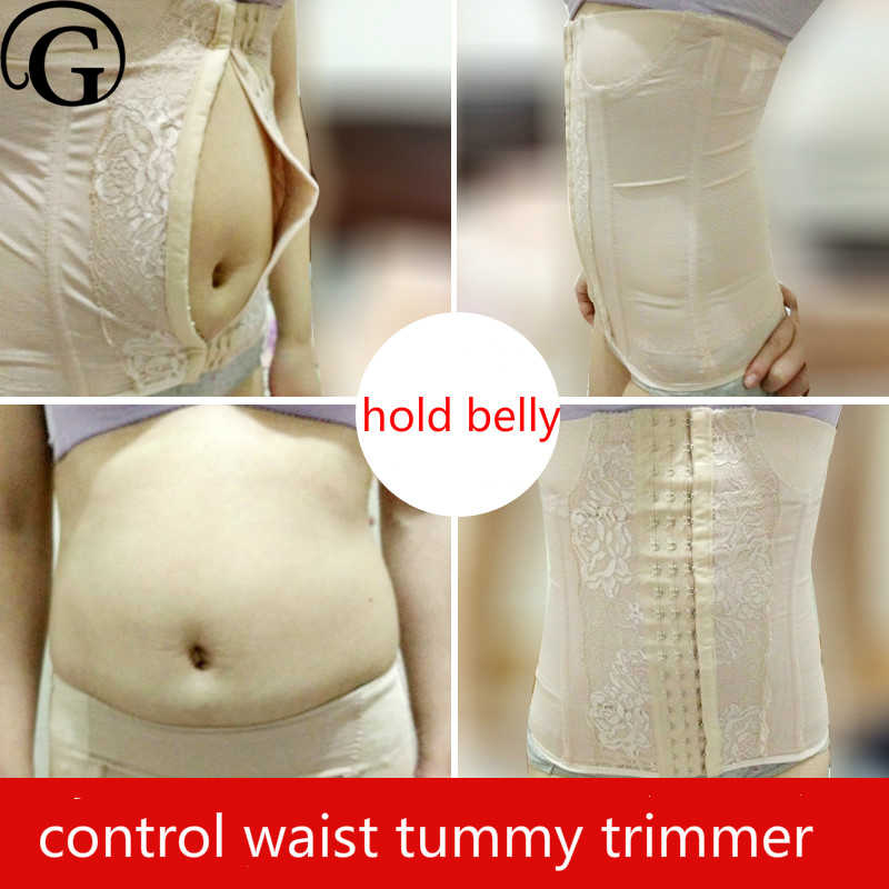 867f768308 PRAYGER Women Control Big Belly Waist Cinchers Sexy Slimming Body Waist  Trainer Wrap Hook Hold Stomach