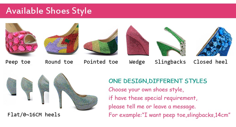Available Shoes Style