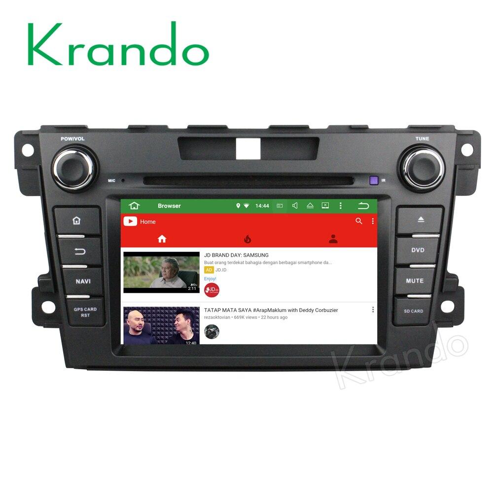 krando android 8 0 car radio gps navigation system for. Black Bedroom Furniture Sets. Home Design Ideas