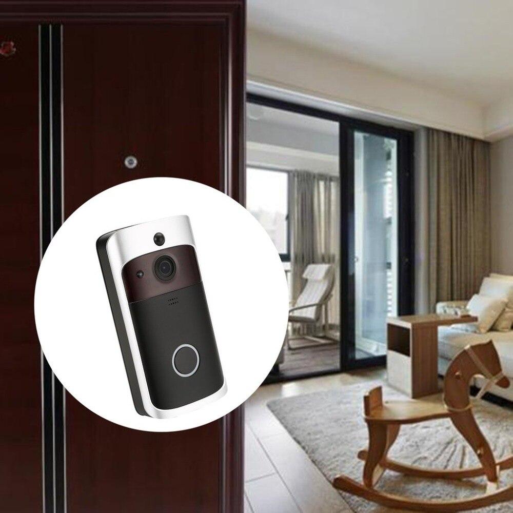 WiFi Smart Wireless Security DoorBell Smart HD 1080P Visual Intercom Recording Video Door Phone Remote Home MonitoringWiFi Smart Wireless Security DoorBell Smart HD 1080P Visual Intercom Recording Video Door Phone Remote Home Monitoring