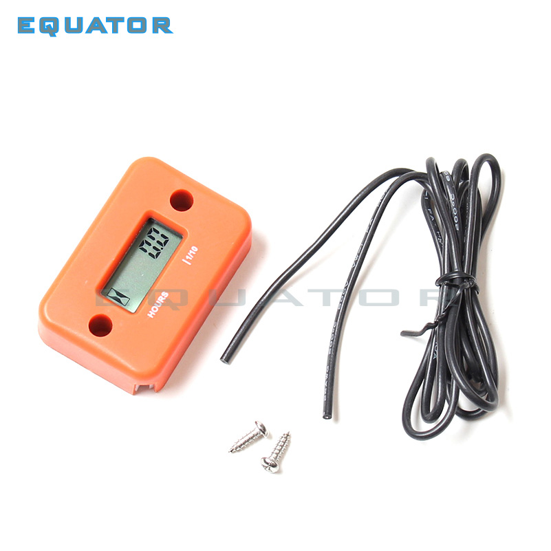 Quad Bike ATV Motorcycle Snowmobile jet ski boat dirt pit bike motorbike Waterproof Digital LCD Counter Hour Meter