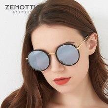 4ff9c8b411950 Cor cinza Rodada Óculos De Sol Das Mulheres de ouro Harry potter Glasse Lente  Círculo óculos
