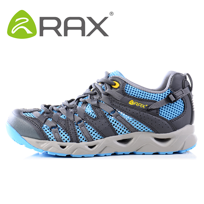 Rax Men Breathable Trekking Aqua Shoes Men Women Water Sports Shoes Summer Hiking Outdoor Sneakers Walking Fishing Shoes Zapatos