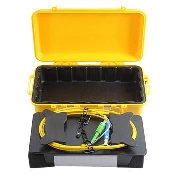 SC/UPC-SC/APC OTDR Dead Zone Eliminator,Fiber Rings ,Fiber Optic OTDR Launch Cable Box SM 1310/1550nm otdr launch cable box sm 1000m otdr patch cord otdr dead zone eliminator fiber rings