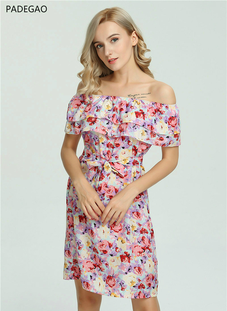 Polyester Summer Dresses