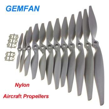 4 sztuk/partia Gemfan Apc nylonu śmigła 5x 5/6x 4/7x 5/8x 4/8x 6/9x 6/10x 5/10x 7/11x5.5/12x 6/13x6.5/14x7 rekwizyty do modelu samolotu RC