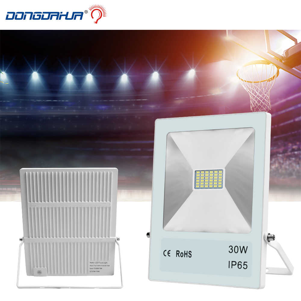 Оптовая светодиодный прожектор light10W 20 W 30 W 50 W 70 W 100 W ip65 открытый прожектор водонепроницаемый наружной стены сад пейзаж spotlight