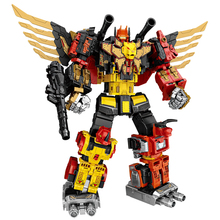 WEI JIANG Transformation oversize Divebomb Predaking Feral Rex Figure Toy Toothed tiger Fierce toys