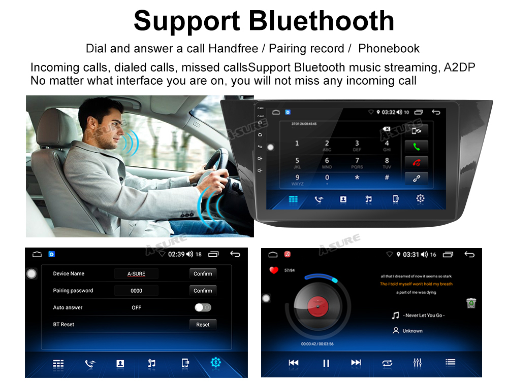 Android 8.1 10 Zoll 8 core VW Tiguan GPS DAB + 4G DSP WIFI IPS BT 74