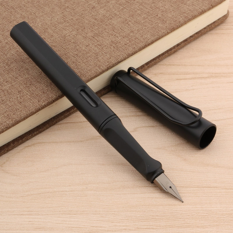 NEW PLASTIC popular HOT OFFICE Fashion Matte black EF Fountain Pen