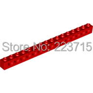*Brick 1x16 With Holes* 10pcs DIY Enlighten Block Bricks, 3703 Compatible With Other Assembles Particles