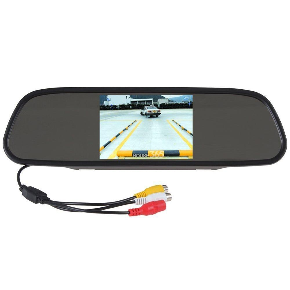 5 HD TFT LCD Car Monitor with 2 Video Input Car Rearview Reversing Parking Monitor LCD